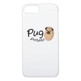 Coque iPhone 8/7 L'amant drôle de cadeau de pomme de terre de