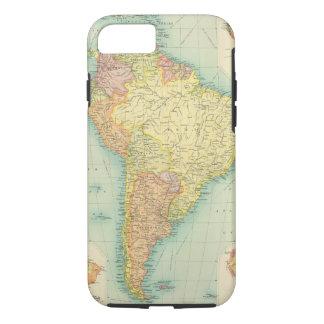 Coque iPhone 8/7 L'Amérique du Sud politique