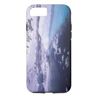 Coque iPhone 8/7 L'Antarctique. Expédition par des icescapes
