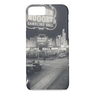 Coque iPhone 8/7 Las Vegas du centre rétro
