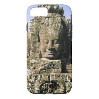 Coque iPhone 8/7 L'Asie, Cambodge, Siem Reap. Angkor Thom, têtes de