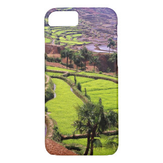 Coque iPhone 8/7 L'Asie, Chine, Yunnan, Honghe.  Les terrasses de