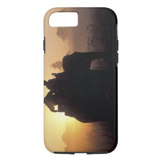 Coque iPhone 8/7 L'Asie, Inde, Kanha NP, safari d'éléphant