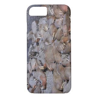 Coque iPhone 8/7 L'Asie, Russie, Arctique sibérien, mer de Béring,