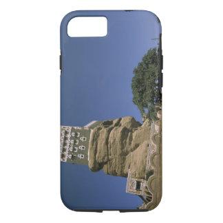 Coque iPhone 8/7 L'Asie, Yémen, Wadi Dhar. Palais de roche, ou Al
