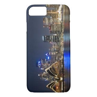 Coque iPhone 8/7 L'Australie, Sydney. Horizon avec le théatre de