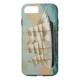 Coque iPhone 8/7 Le bateau Fleetwing, baie de Hong Kong