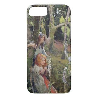 Coque iPhone 8/7 Le bois enchanté (huile sur la toile)