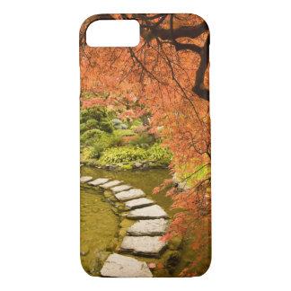 Coque iPhone 8/7 Le CANADA, Colombie-Britannique, Victoria. Automne