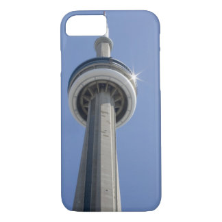 Coque iPhone 8/7 Le Canada, Ontario, Toronto. Dessus de tour de NC