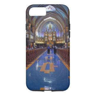 Coque iPhone 8/7 Le Canada, Québec, Montréal. Intérieur de Notre 3