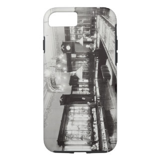Coque iPhone 8/7 Le centre commercial de Faberge (photo de b/w)