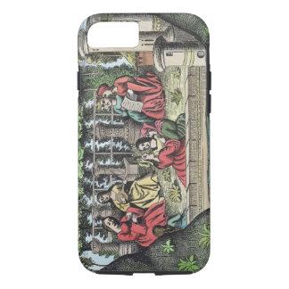 Coque iPhone 8/7 Le château d'Alamond et de ses enchantements, de '