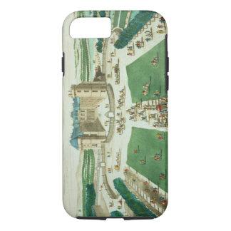 Coque iPhone 8/7 Le château Rambouillet, gravée par Antoine Aveli