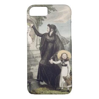Coque iPhone 8/7 Le cimetière de Pere Lachaise, imprimé par Charles