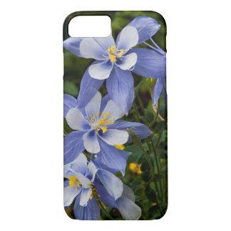 Coque iPhone 8/7 Le Colorado Columbine bleu près de tellurure le