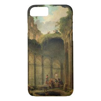 Coque iPhone 8/7 Le Colosseum, Rome (huile sur la toile)