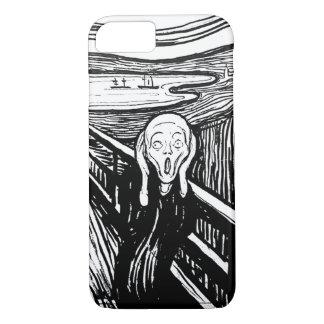 Coque iPhone 8/7 Le cri perçant par Edvard Munch
