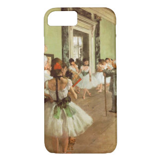 Coque iPhone 8/7 Le cru élégant dégazent la classe de danse,