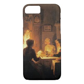 Coque iPhone 8/7 Le dîner, c.1900 (huile sur la toile)