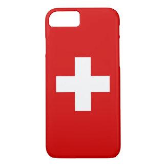 Coque iPhone 8/7 Le drapeau de la Suisse