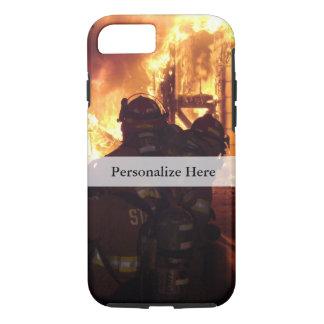 Coque iPhone 8/7 Le feu de lutte contre l'incendie de structure