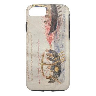 Coque iPhone 8/7 Le feu grec (vélin)