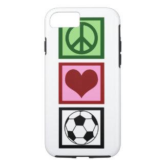 Coque iPhone 8/7 Le football d'amour de paix