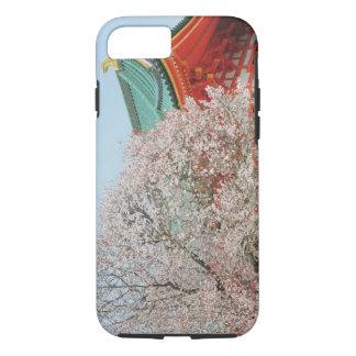 Coque iPhone 8/7 Le Japon, Kyoto. Fleurs de cerisier de Shinto