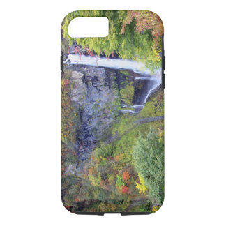 Coque iPhone 8/7 Le Japon, Nikko. Cascade de Kegon de Nikko, un