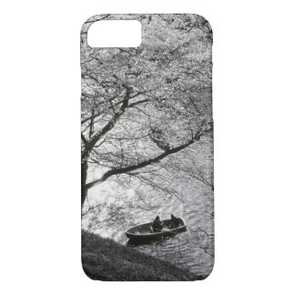 Coque iPhone 8/7 Le Japon, Tokyo. Fleurs de cerisier dans