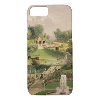 Coque iPhone 8/7 Le jardin du côté de colline, château Combe, de 'T