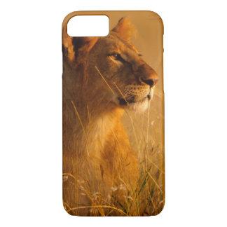 Coque iPhone 8/7 Le Kenya : Réservation de jeu de Mara de masai,