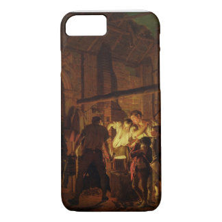 Coque iPhone 8/7 Le magasin du forgeron (huile sur la toile)