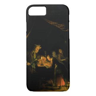 Coque iPhone 8/7 Le maître d'école, 1660-65 (huile sur le panneau)