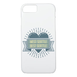 Coque iPhone 8/7 Le meilleur Seattle iPhone de Seattle occidental -