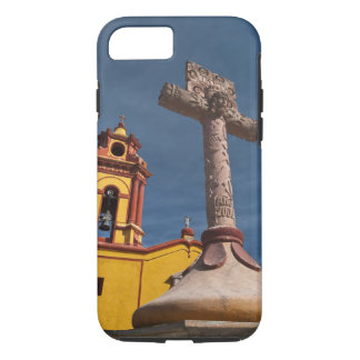 Coque iPhone 8/7 Le Mexique, Bernal. Vue d'Iglesia De San Sebastian