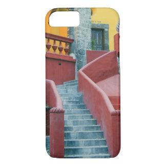 Coque iPhone 8/7 Le Mexique, San Miguel de Allende, coloré
