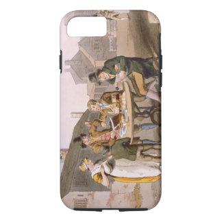 """Coque iPhone 8/7 Le milieu de l'été Ève, du """"costume de Yorkshire"""""""
