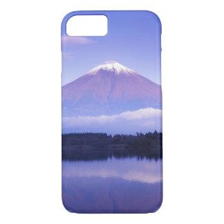 Coque iPhone 8/7 Le mont Fuji avec le nuage lenticulaire, lac