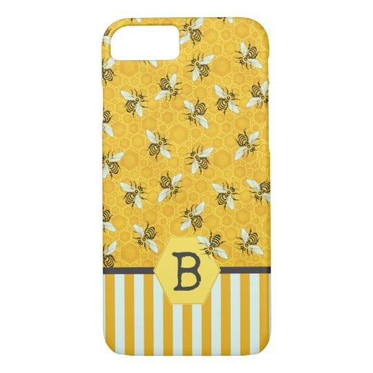 coque iphone 8 abeille
