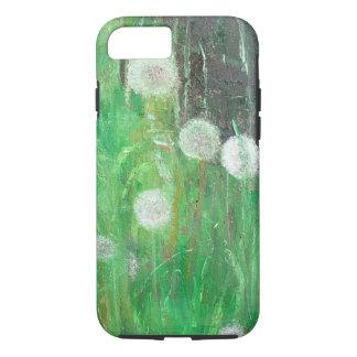 Coque iPhone 8/7 Le pissenlit synchronise en huile de l'herbe 2008