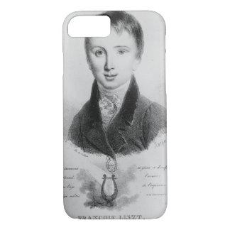 Coque iPhone 8/7 Le portrait de Franz Liszt (1811-86) a vieilli 11