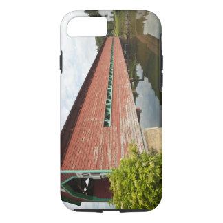 Coque iPhone 8/7 Le Québec, Canada. Pont couvert de Galipeault