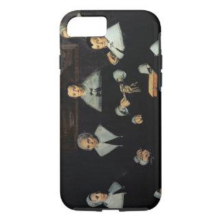 Coque iPhone 8/7 Le Regentesses de l'Almhouse de vieux hommes,