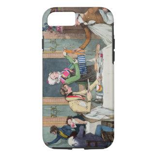 Coque iPhone 8/7 Le Restaurant, pub. par Rodwell et Martin, 1820 (c