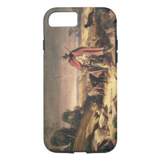 Coque iPhone 8/7 Le retour du berger (stylo et encre brune, la