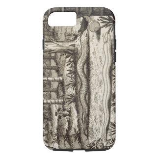 """Coque iPhone 8/7 Le serpent en pierre, de """"Chine a illustré"""" par"""