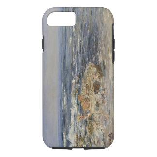Coque iPhone 8/7 Le surf atlantique, 1899 (huile sur la toile)