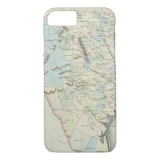Coque iPhone 8/7 Le Texas des Etats-Unis d'Amérique